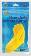 RUBBER GLOVES,Household (Large)