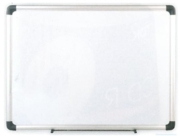 NOTICE BOARD,Drywipe Magnetic Alloy Frame 60x45cm