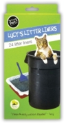 LITTER TRAY LINERS,24's H/pk (£1.49)