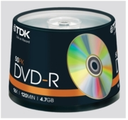 DVD-R JVC Spindle 50's (£17.99)