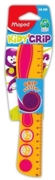 RULER,12in Kidy'Grip Plastic (Maped) H/pk (Was 2.39)