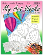 COLOURING BOOK,My Art Works(2) (2.99)