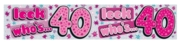 BANNER,Double Width 40 Female (Was 1.49)