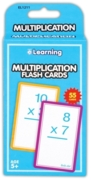 LEARNING FLASH CARDS, Multiplication