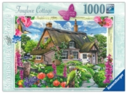 JIGSAW,1000pc.Foxglove Cottage (Ravensburger)