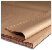 KRAFT SHEETS,90gsm 36x45in 900x1150mm Pure MG Ribbed