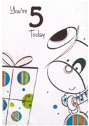 GREETING CARDS,Age 5 Male 12's Juvenile