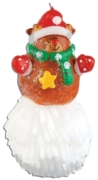 CANDLE,Character On Snowball 13cm Asst. (£2.99)
