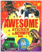 AWESOME STICKER/ACTIVITY BOOK