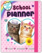 SCHOOL PLANNER,Girls (Fluffy Friends)