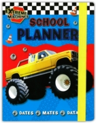 SCHOOL PLANNER,Boys (Extreme Machines)