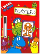 ACTIVITY BOOK,I Want To Draw Monsters