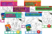 ACTIVITY BOOK,Learn to Draw 6 Asst. Designs ( 1.99)