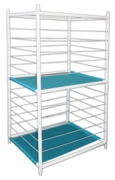 BALL STAND,Plastic 2 Tier (Empty)