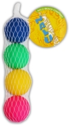 BALL,For Beach Bat Set 4's 40mm In H/pk net