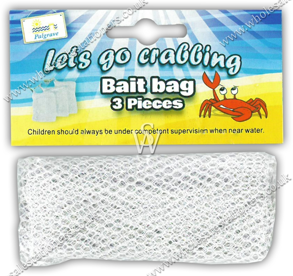 crab line with bait bag instructions