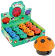 PENCIL SHARPENER & ERASER, Novelty Ladybug CDU(Was 1.49)