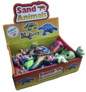 ANIMALS,Sand Critters Asst. Lge 7in  CDU