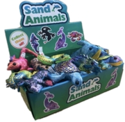 ANIMALS,Sand Critters Asst.Sm 4in CDU