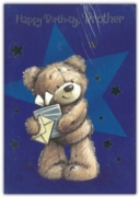 GREETING CARDS,Brother 12's Teddy Bear