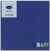 NAPKINS,33/3ply Dark Blue 20's