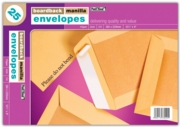 BOARD-BACKED ENVELOPES, 12.7.7x9 (C4)