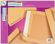 BOARD-BACKED ENVELOPES, 15.5x12.5  394x318mm