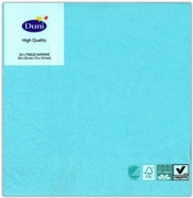 NAPKINS,33/3ply Mint Blue 20's