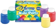 KIDS PAINT,6x59ml Bottles Asst.Cols in a Box