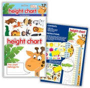 HEIGHT CHART,With Stickers H/pk
