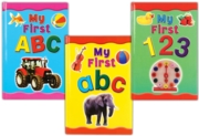 BOARD BOOK,My First 123/ABC