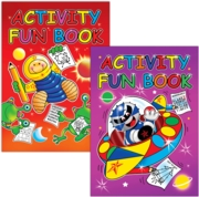 ACTIVITY BOOK,Puzzle/Colouring 4 Asst.