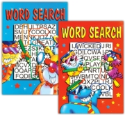 ACTIVITY BOOK,Word Search Junior 4 Asst.