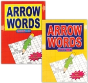 ACTIVITY BOOK,Arrow Words Large Print 4 Asst.