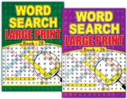ACTIVITY BOOK,Word Search A4 Large Print