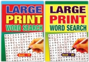 ACTIVITY BOOK,Word Search A5 Large Print