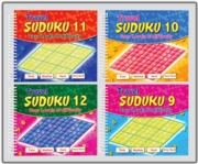 ACTIVITY BOOK,SudokuTravel Spiral 4 Asst.