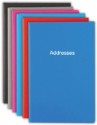 ADDRESS BOOK,Pocket 70x108mm Asst.
