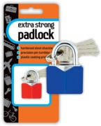 PADLOCK,Extra Strong Asst.Cols I/cd