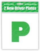 P PLATES,(New Driver) 2's Magnetic H/pk