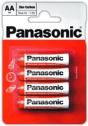 PANASONIC Zinc Batteries AA 4's I/cd