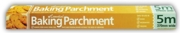 BAKING PARCHMENT ROLLS,Boxed 370mm x 5m, 41gsm (Essential)