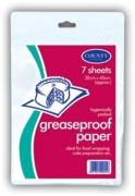 GREASEPROOF PAPER,35x45cm 7's H/pk