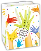 GIFT BAG,Painted Hand (Extra Large)(-25%)