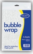 BUBBLE WRAP,7x11  4's H/pk