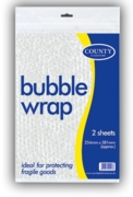 BUBBLE WRAP,10x15 2's H/pk