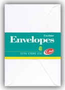 CLUB ENVELOPES,No.2 White 40's