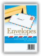 CLUB ENVELOPES,Airmail C6 White 25's