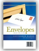 CLUB ENVELOPES,C6 White  50's