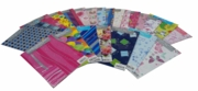 GIFT WRAP PACKETS, Stripes Pink. H/pk